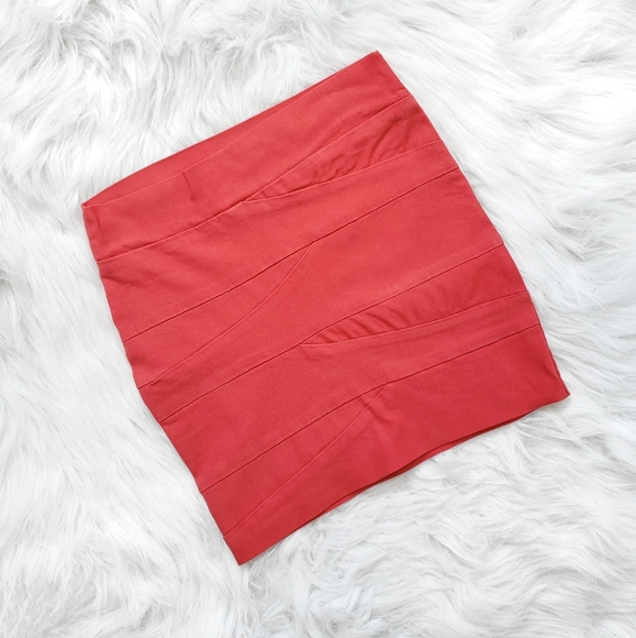 3/20$ - ECLIPSE - Women's Coral Mini Skirts - 0